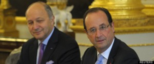 Ministers gather at the weekly cabinet meeting at the Elysee Palace in Paris