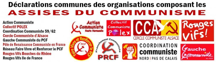 Assises du communisme - manifestation 30 mai
