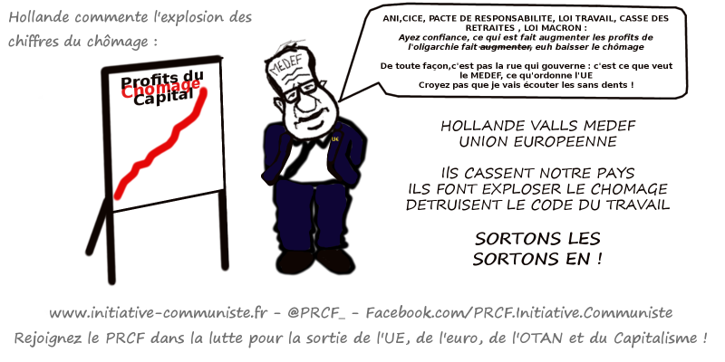 chomage hollande UE