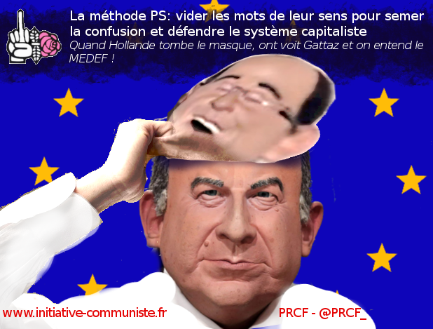 hollande gattaz medef ps