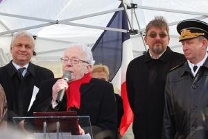 Léon Landini, 70e anniversaire de Stalingrad, 2 février 2013