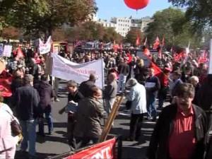 Vidéo de la manifestation du 30 septembre contre le TSCG