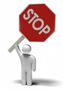 man-stop-sign
