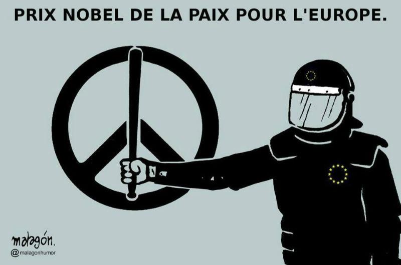 UE prix Nobel de la Paix