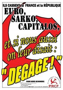 affiche DEGAGE1