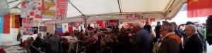 La fête de l'huma 2013 sur le stand du PRCF