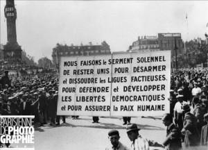 """Conférence d'Annie Lacroix-Riz """"la tentative de coup d'état fasciste du 6 février 1934, quels enseignements 80 ans plus tard"""" – 06/02/14 à Marseille théâtre Toursky"""