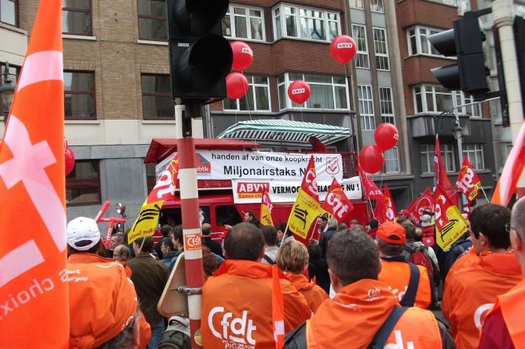 CGT et CFDT à Bruxelles....