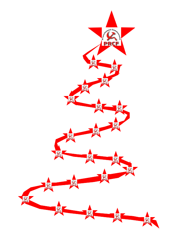 Joyeux Noel rouge - PRCF