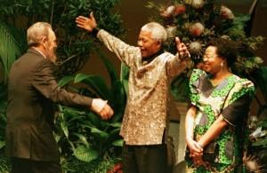 NELSON MANDELA EST MORT !