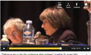"""""""L'Europe et l'Euro les leviers du néo libéralisme il faut en sortir"""" – Monique Pinçon Charlot (vidéo)"""