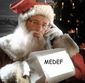 hollande père noel du medef