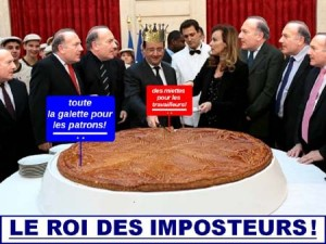 Hollande et son gouvernement PS/Verts : commis du patronat !