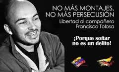 Colombie : Liberté pour Francisco Toloza, maintenant !