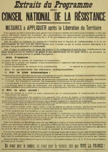 70ème anniversaire du programme du CNR, par G. Gastaud