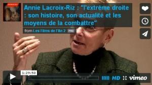Annie Lacroix-Riz : à travers l'analyse historique du fascisme allemand des années 1930
