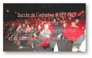 Provocation fasciste lors d'une conférence d'Annie Lacroix-Riz – communiqué du PRCF