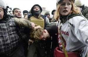 Rostislav Vasilko, dirigeant communiste à Lviv (Ukraine) torturé par les néonazis de EuroMaïdan