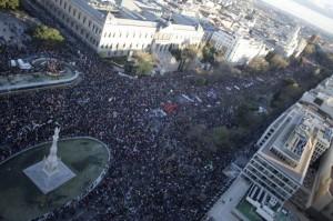 """Marches de la Dignité : manifestation monstre à Madrid – """"Dehors le gouvernement de la Troika"""""""