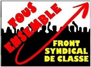 Point d'étape syndical – par le Front Syndical de Classe …