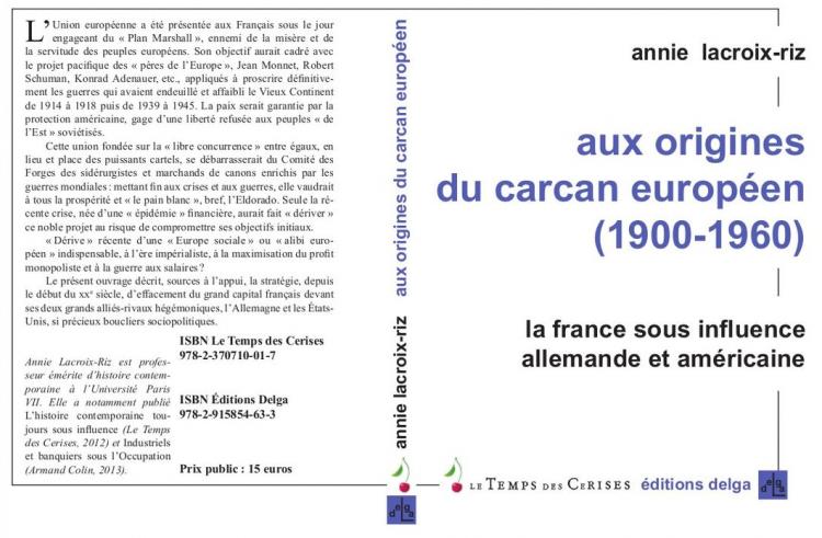 Annie-Lacroix-Riz-aux-origines-du-carcan-européen