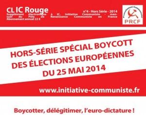 Clic Rouge hors série spécial boycott des élections européennes (n°4 – 2014)