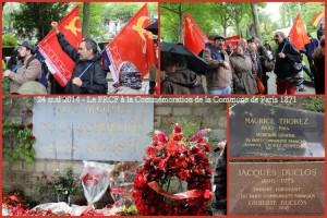 le PRCF commémore la Commune de Paris [24/05]