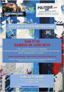 Café hyper-républicain n° 29, invitée exceptionnelle Annie Lacroix-Riz