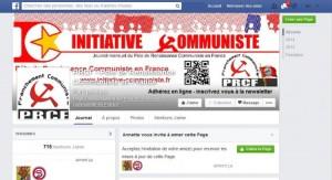 Le PRCF sur facebook – plus de 700 j'M