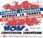 l'europe capitaliste detruit la france et ses acquis sociaux, sortir de l'UE, PRCF,europe sociale