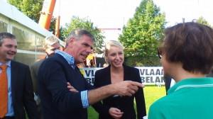 Marion Maréchal Le-Pen et Filip Dewinter (Vlaams)