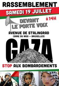 Manif Palestine 19-7-14