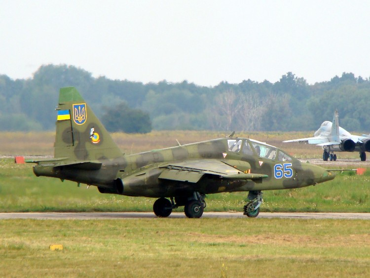 Ukrainian_Air_Force_Su-25 UB
