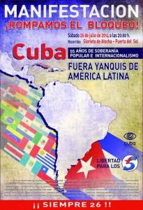 26 juillet 1953 – 26 juillet 2014 : CUBA SOCIALISTE, es siempre el 26 de julio !
