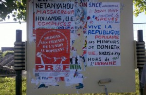 De GAZA à DONETSK, LES PYROMANES IMPERIALISTES EN DIFFICULTE !