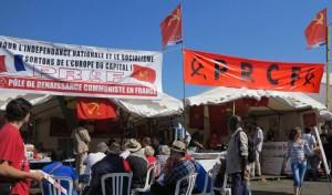 Programme du stand du PRCF – Fête de l'HUMA 2014, du 12 au 14 Septembre
