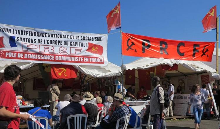 Stand PRCF Fête HUMA