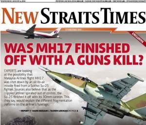 #MH17 : Qu'est devenue l'enquête sur le Boing MH17 abattu en (par ?) Ukraine ?
