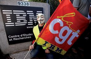Plan social à IBM France : poursuite accélérée des destructions d'emplois!