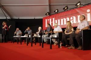 débat l'agora 2014 Léon Landini FTP MOI résistance PRCF