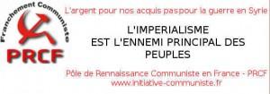 [communiqué] Sur l'EIIL, la guerre en Syrie et l'odieux assassinat d'un français en Algérie  – Contre la guerre, combattre l'impérialisme et faire triompher la PAIX !