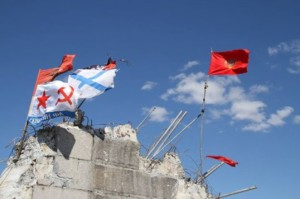 """Ukraine :  Les miliciens communistes forment """"la Garde rouge du Donbass"""""""