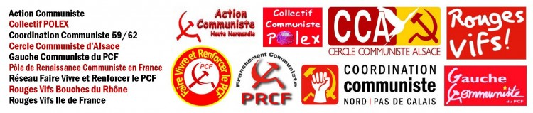 assises logos communisme PRCF