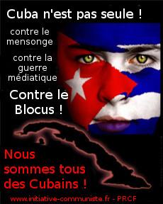 Gerardo HERNANDEZ, l'un des 5 héros cubains, en visite sur le stand du PRCF à la Fête de l'HUMA, le 13 septembre à 11h30