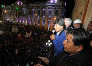 Evo Morales réélu : Des élections boliviennes franchement MORAL(é)S !