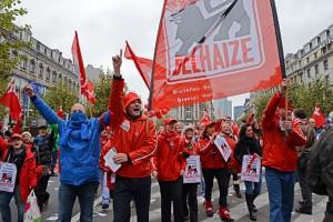 """Belgique : la grève monte en puissance """"Les grévistes plus que jamais déterminés à faire reculer le gouvernement""""PTB"""