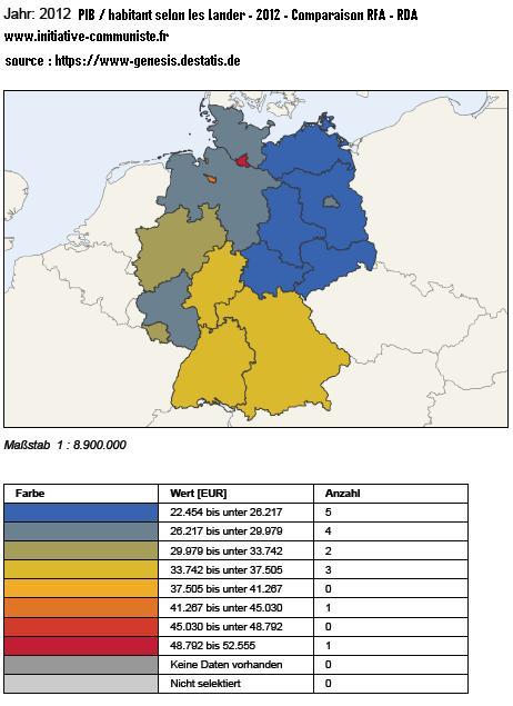 PIB par habitant RFA RDA 2012