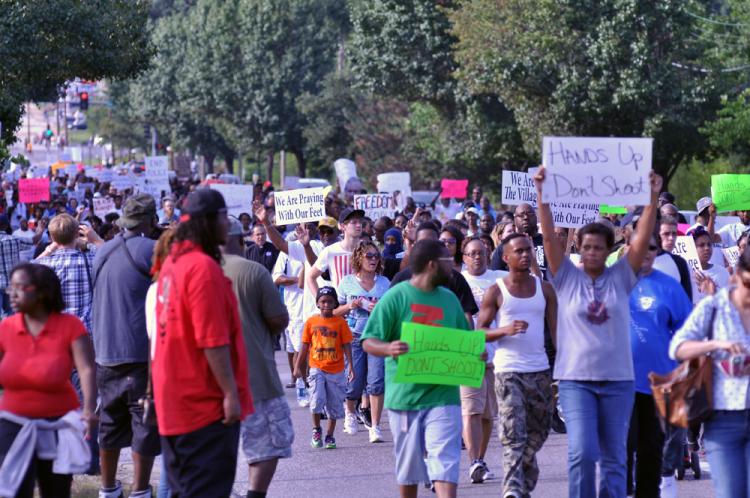 Manifestation à Ferguson, credit Photo Loavesofbread - CC BY-SA 4.0 - source