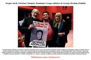 G. I. Abdallah, citoyen d'honneur de Grenay – (62)