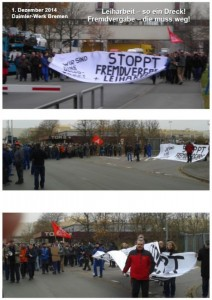 Grèves à Mercedes Benz, l'exemple allemand